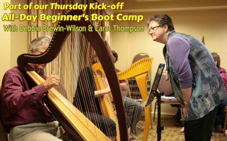 Beginner harp bootcamp Thursday July 18